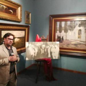 Ruben Capdevila, un defensor del aura  del arte