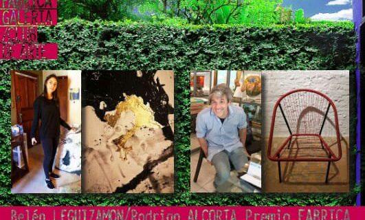 Premio Oxígeno en Fabrica Galería de Arte