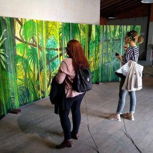 La casa tomada por los artistas invitados, memorias de Oxígeno 2019